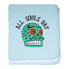 All Souls Day baby blanket