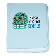 Feast Of All Souls baby blanket