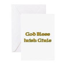 God Bless Irish Girls Greeting Cards (Pk of 10