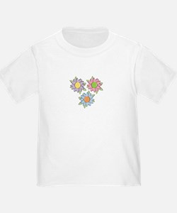 Pretty Mother's Day Cartoon Flowers T