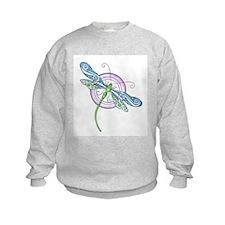 Whimsical Dragonfly Sweatshirt
