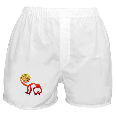 Nazca Monkey (sunset) Boxer Shorts