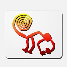 Nazca Monkey (sunset) Mousepad