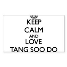 Keep calm and love Tang Soo Do Decal