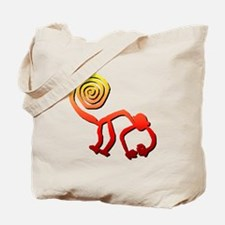 Nazca Monkey (sunset) Tote Bag
