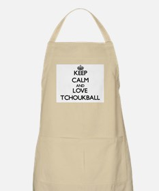 Keep calm and love Tchoukball Apron