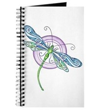 Whimsical Dragonfly Journal