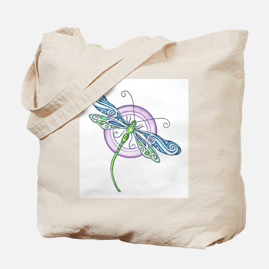 Whimsical Dragonfly Tote Bag