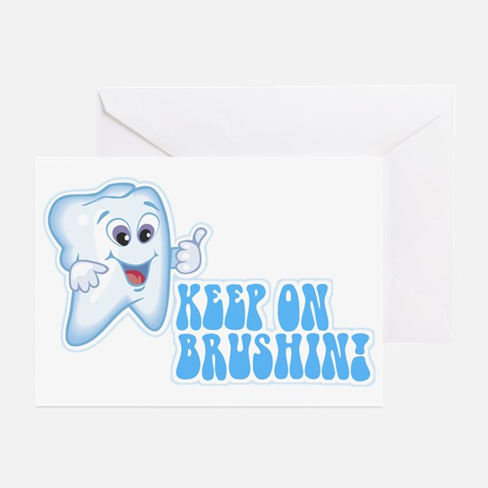 Keep On Brushing - Dental Greeting Cards (Package