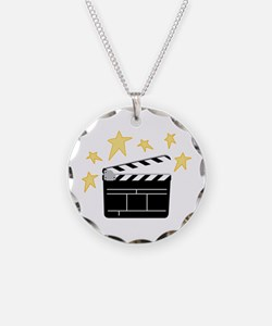 Action Clapperboard Necklace