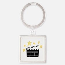 Action Clapperboard Keychains