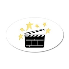 Action Clapperboard Wall Decal