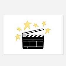 Action Clapperboard Postcards (Package of 8)