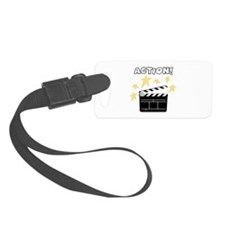 Action Luggage Tag