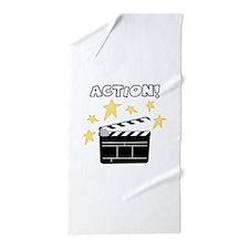 Action Beach Towel