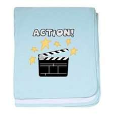 Action baby blanket