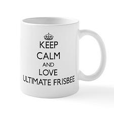 Keep calm and love Ultimate Frisbee Mugs