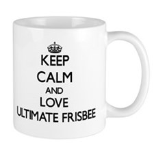 Keep calm and love Ultimate Frisbee Mugs