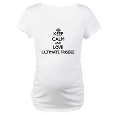 Keep calm and love Ultimate Frisbee Shirt