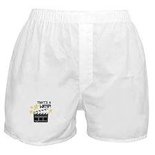 Thats a Wrap Boxer Shorts