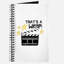 Thats a Wrap Journal