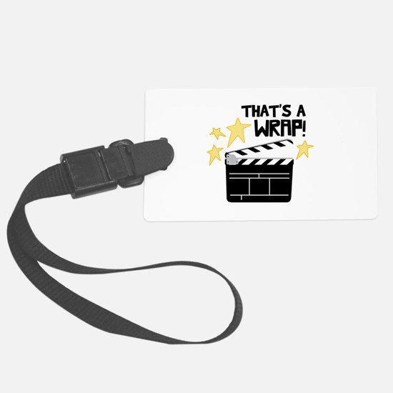 Thats a Wrap Luggage Tag