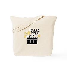 Thats a Wrap Tote Bag