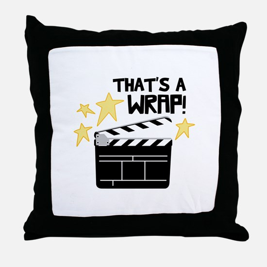 Thats a Wrap Throw Pillow