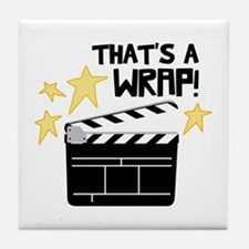 Thats a Wrap Tile Coaster