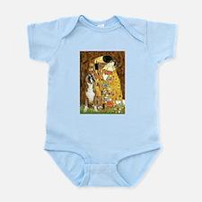 The Kiss & Boxer Infant Bodysuit