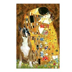 The Kiss & Boxer Postcards (Package of 8)