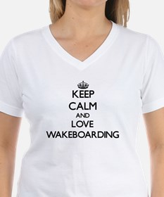 Keep calm and love Wakeboarding T-Shirt