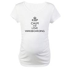 Keep calm and love Wakeboarding Shirt