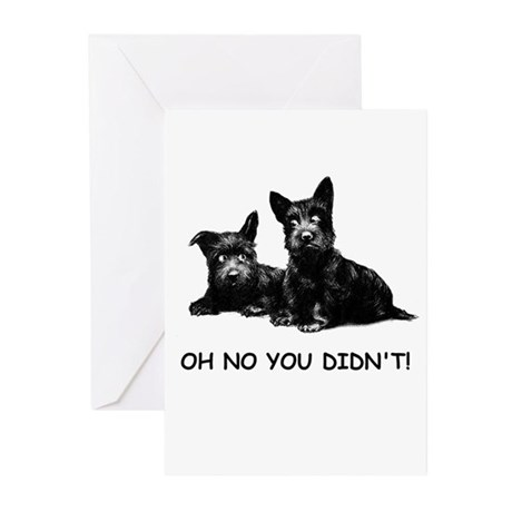 OH NO YOU DIDN'T Greeting Cards (Pk of 10)