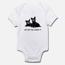 OH NO YOU DIDN'T Infant Bodysuit