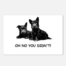 OH NO YOU DIDN'T Postcards (Package of 8)
