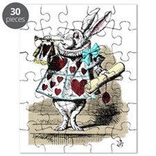 Alice In Wonderland Rabbit Herald Puzzle
