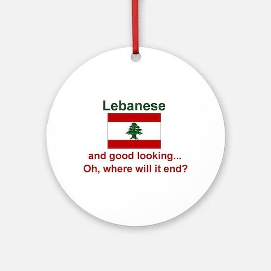 Good Looking Lebanese Keepsake Ornament