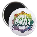 Let the Love Continue Magnet
