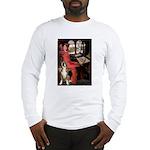 Lady & Boxer Long Sleeve T-Shirt