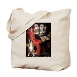 Lady & Boxer Tote Bag