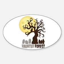 Hanunted Forest Decal
