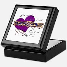 Purple Heart Keepsake Box
