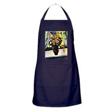 August Macke - Colorful Bunch of Flow Apron (dark)