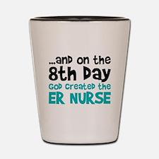 ER Nurse Creation Shot Glass