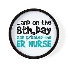 ER Nurse Creation Wall Clock