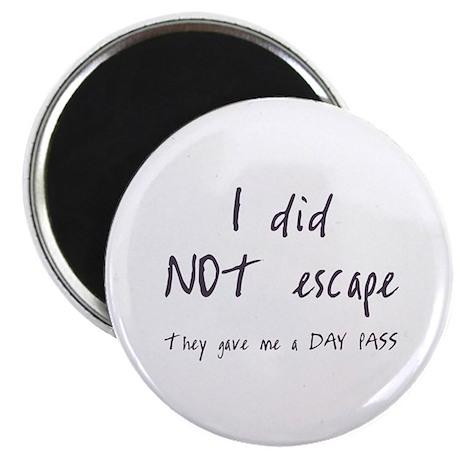 I did NOT escape Magnet