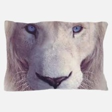white lion  Pillow Case