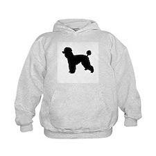 poodle black 1 Hoodie