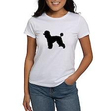 poodle black 1 T-Shirt